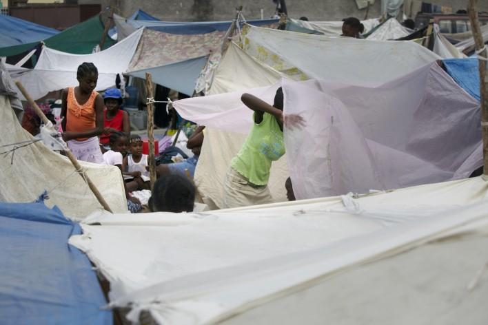 Aardbeving verwoest Haïti