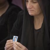 Attiya Gamri steunt Assyrische christenen © Jaco Klamer www.klamer-staal.nl