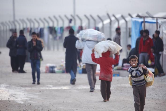 Verdreven Irakezen