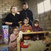 Verdreven Irakezen in Irak © Jaco Klamer www.klamer-staal.nl