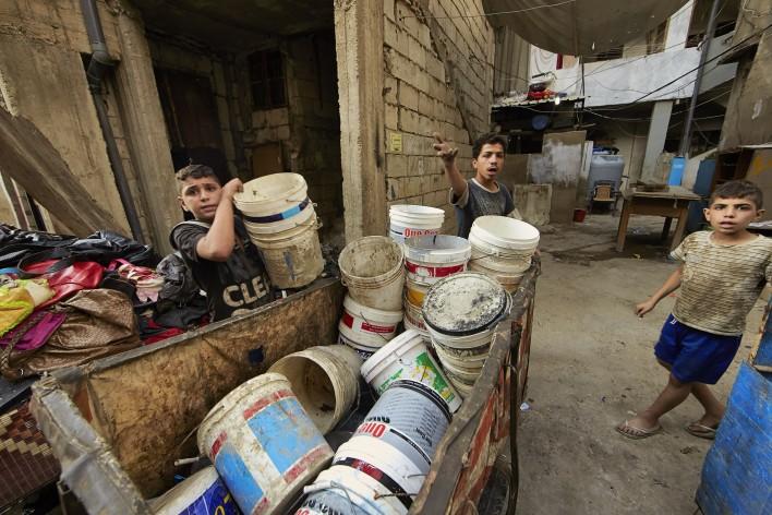 Uitzichtloos leven in Libanon