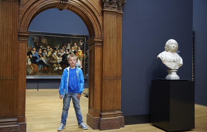 Aron, Napoleon en Rembrandt in het Rijks