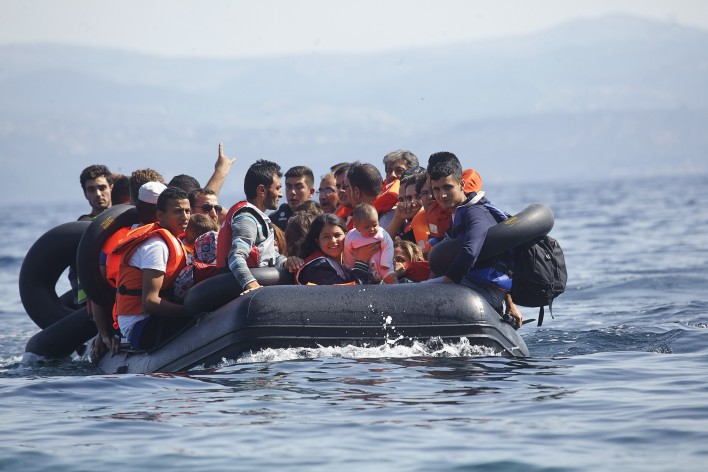 Rubberboot vol grenzeloze vreugde