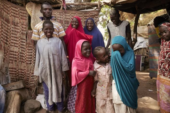 Geducht Nigeria © Jaco Klamer www.klamer-staal.nl