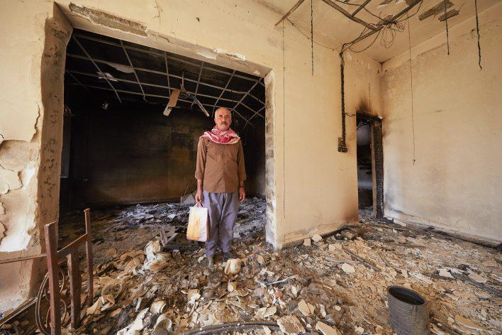 Qaraqosh bevrijd in strijd rond Mosul © Jaco Klamer www.klamer-staal.nl
