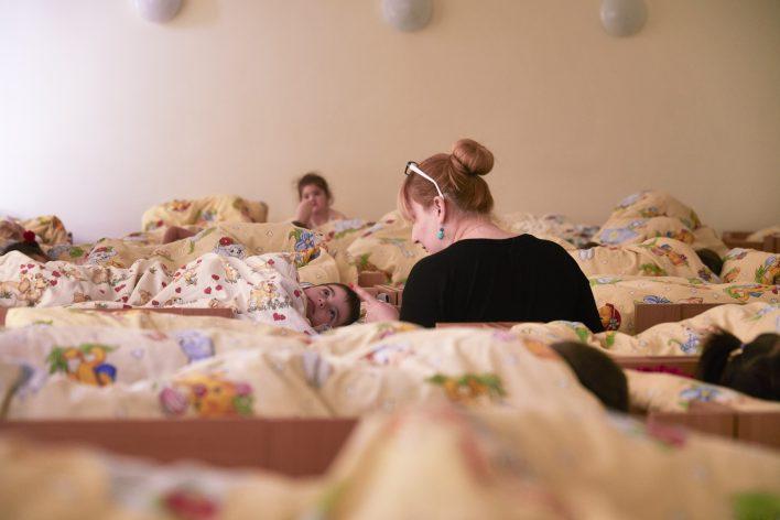Menslievend Moldavië © Jaco Klamer www.klamer-staal.nl