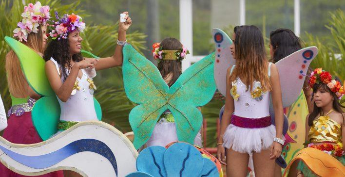 Carnaval in Caracas © Jaco Klamer www.klamer-staal.nl