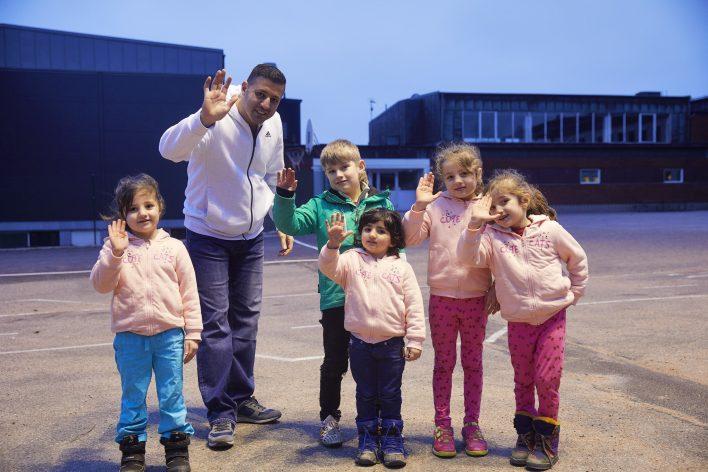Van Syrië naar Zweden © Jaco Klamer www.klamer-staal.nl