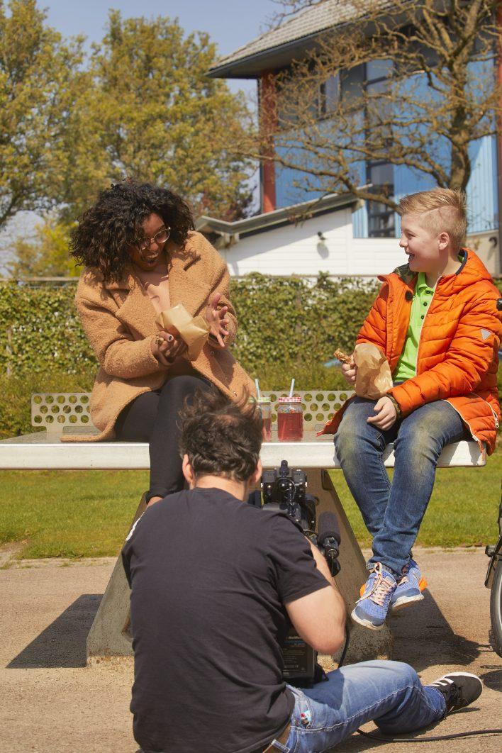Hoofdrol in Het Klokhuis © Jaco Klamer www.klamer-staal.nl