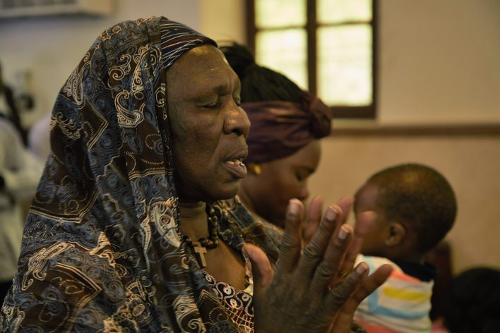 Soedanese kerk in Caïro © Jaco Klamer www.klamer-staal.nl