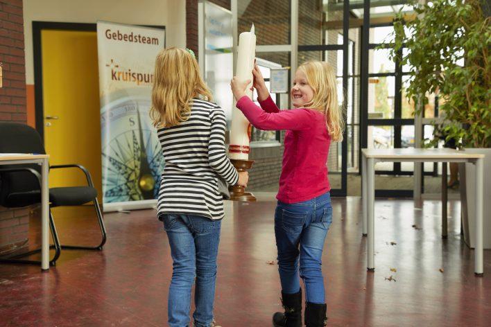 Kruispunt kerkt laatste keer in school © Jaco Klamer www.klamer-staal.nl