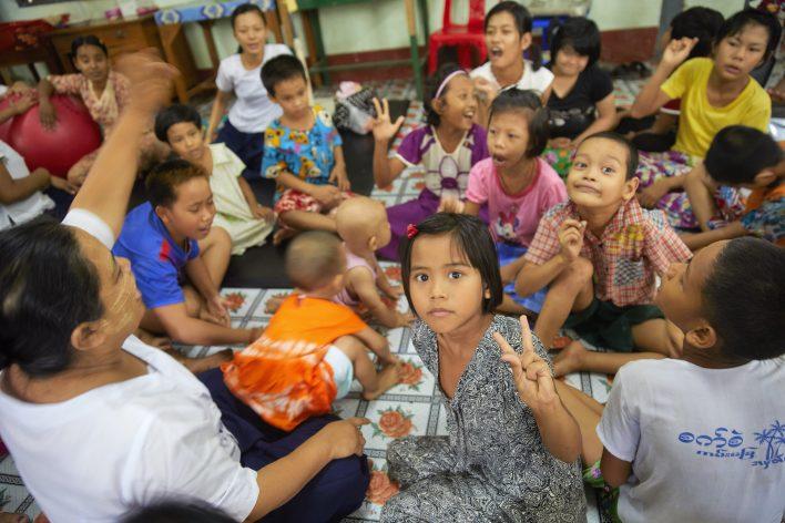 Lepra en nog meer leed in Myanmar © Jaco Klamer www.klamer-staal.nl