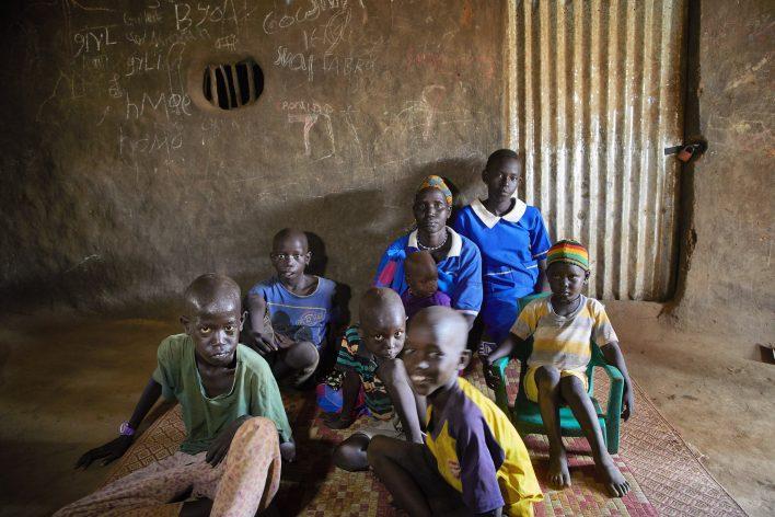 Schrijnend Zuid-Soedan © Jaco Klamer www.klamer-staal.nl