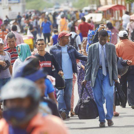 Venezolaanse vluchtelingen in Colombia