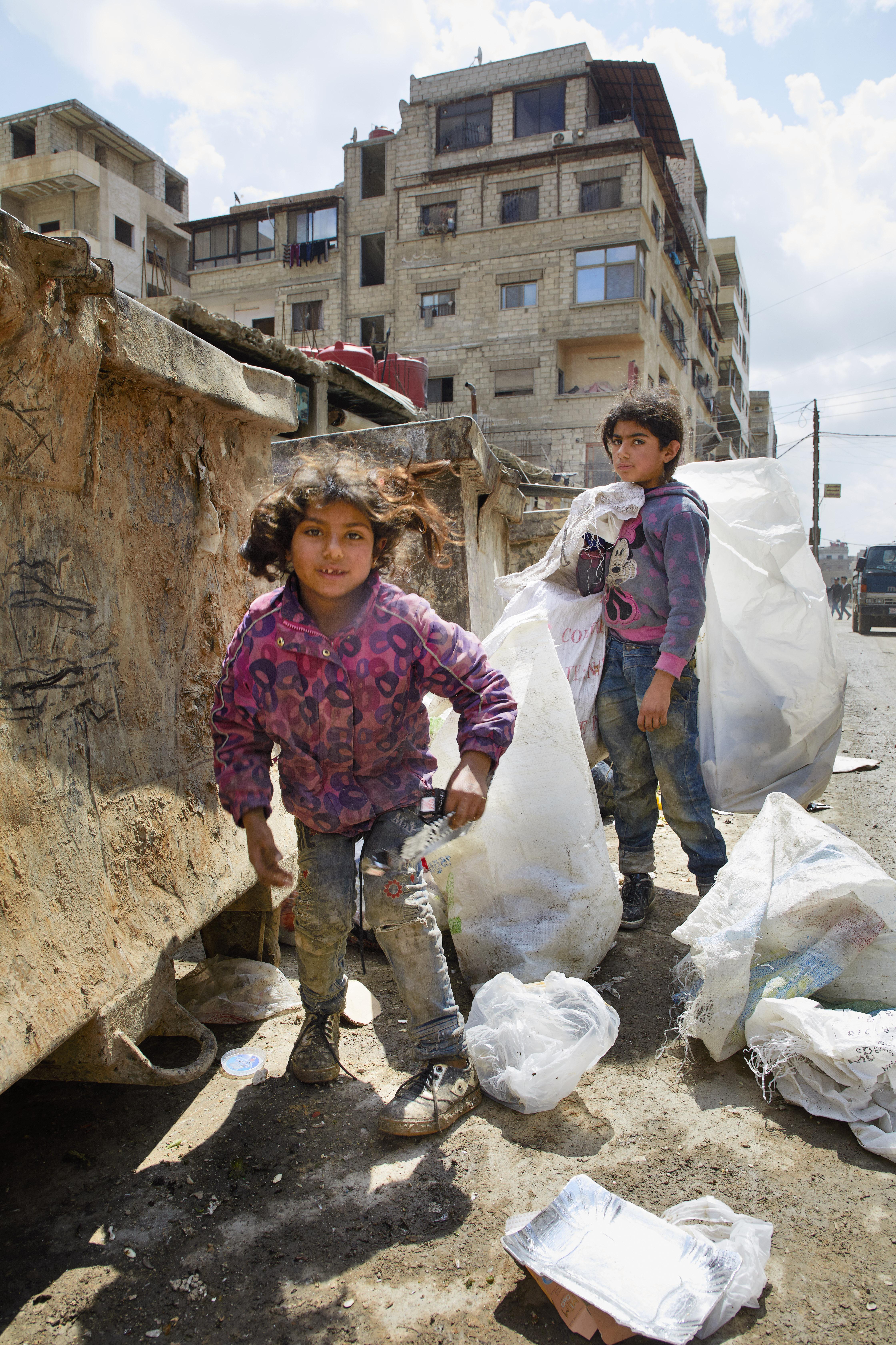 Sores in Syrië © Jaco Klamer www.klamer-staal.nl
