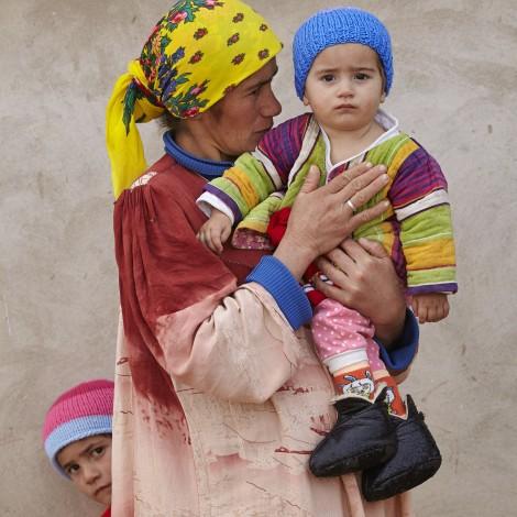 Zonder verwarming in Tajikistan