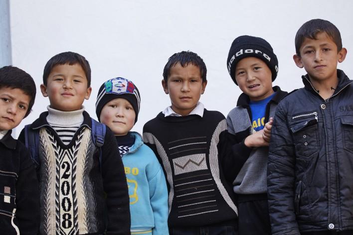 Zonder verwarming in Tadzjikistan
