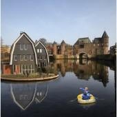 Reclame met een knipoog © Jaco Klamer www.klamer-staal.nl