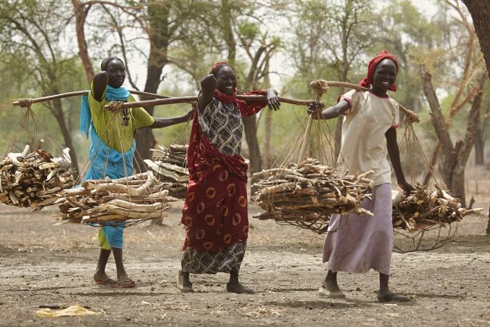 Ontheemd in Zuid-Soedan