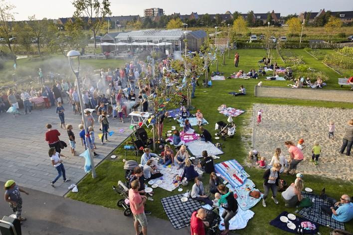 Picknick in park