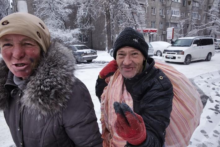 Kwetsbaar in Kirgizië