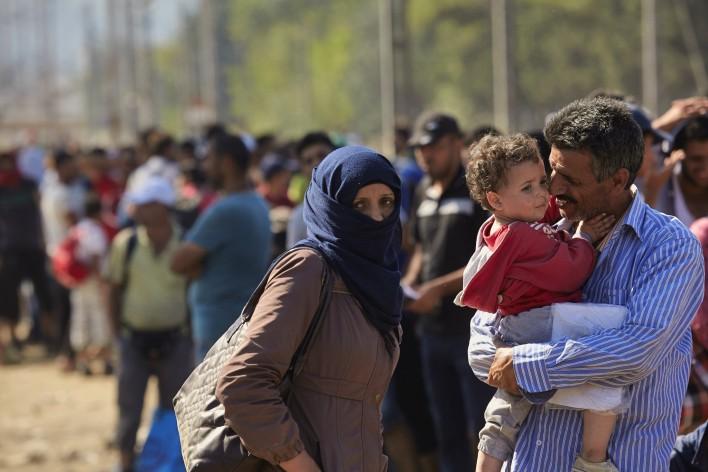 Vlucht naar veilig en welvarend Europa