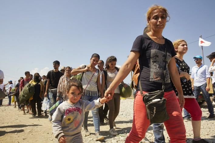 Kinderen verleggen grenzen in vredig europa