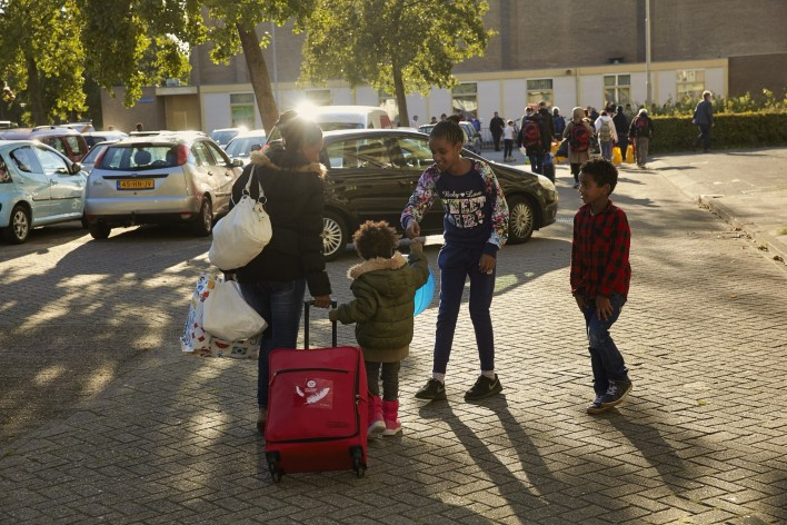 Asielzoekers tijdelijk welkom in sporthal