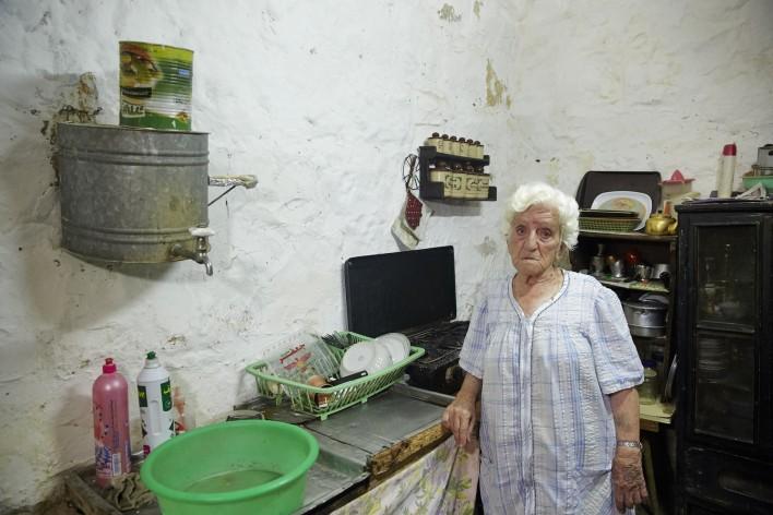 Ouderen in Ramallah