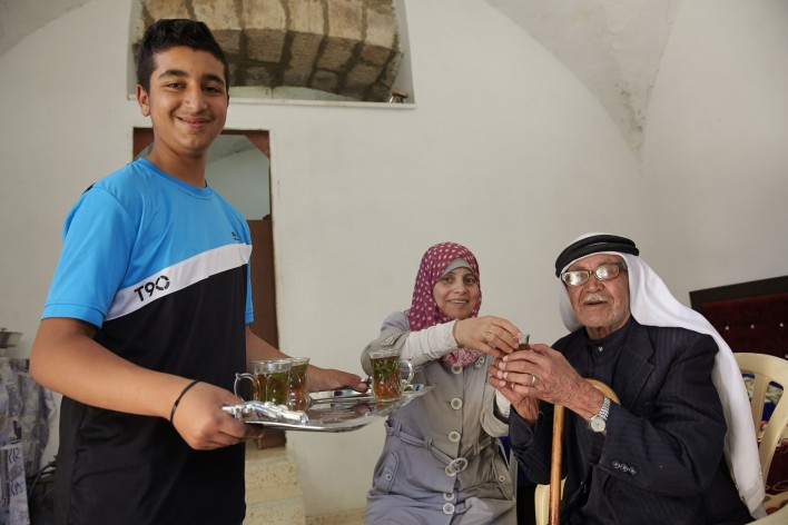Zorg voor ouderen in Ramallah