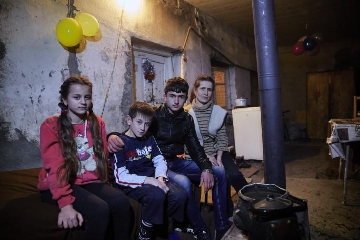 Thuis in Armenië © Jaco Klamer www.klamer-staal.nl