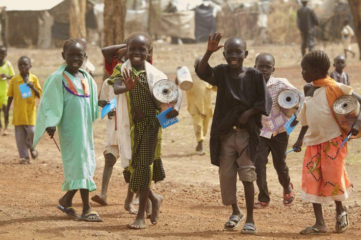 Toekomst voor Zuid-Soedan © Jaco Klamer www.klamer-staal.nl