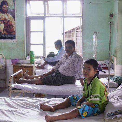 Lepra en nog meer leed in Myanmar