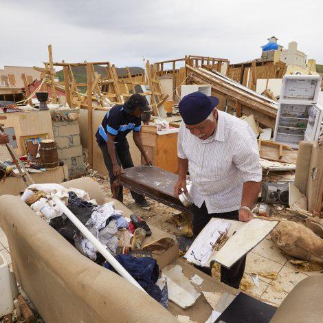Stilte na storm op Sint-Maarten