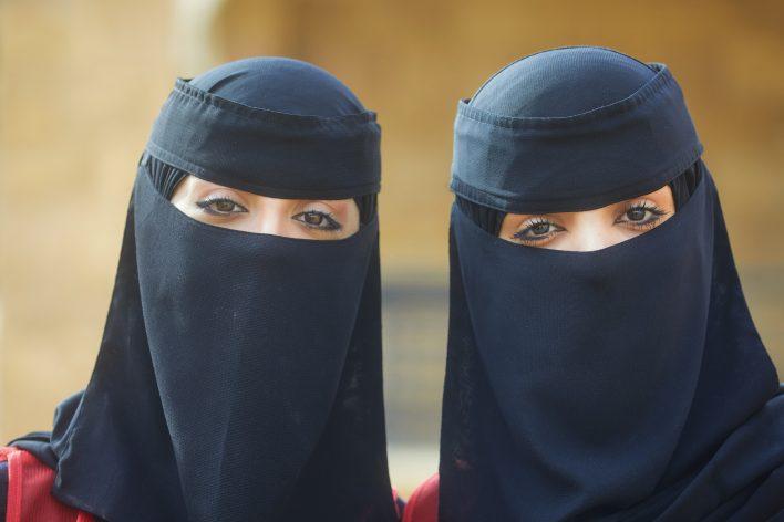 Saoedische schoonheid © Jaco Klamer www.klamer-staal.nl