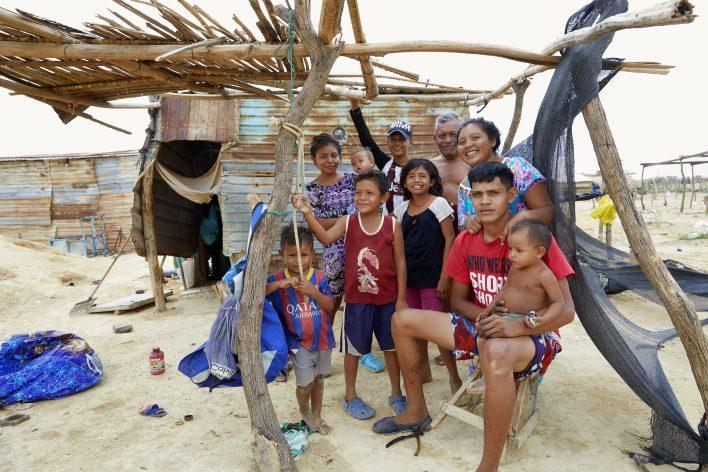 Venezolaanse vluchtelingen in Colombia © Jaco Klamer www.klamer-staal.nl