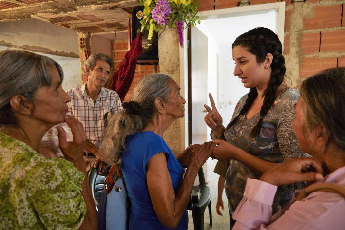 Volharden in Venezuela © Jaco Klamer www.klamer-staal.nl