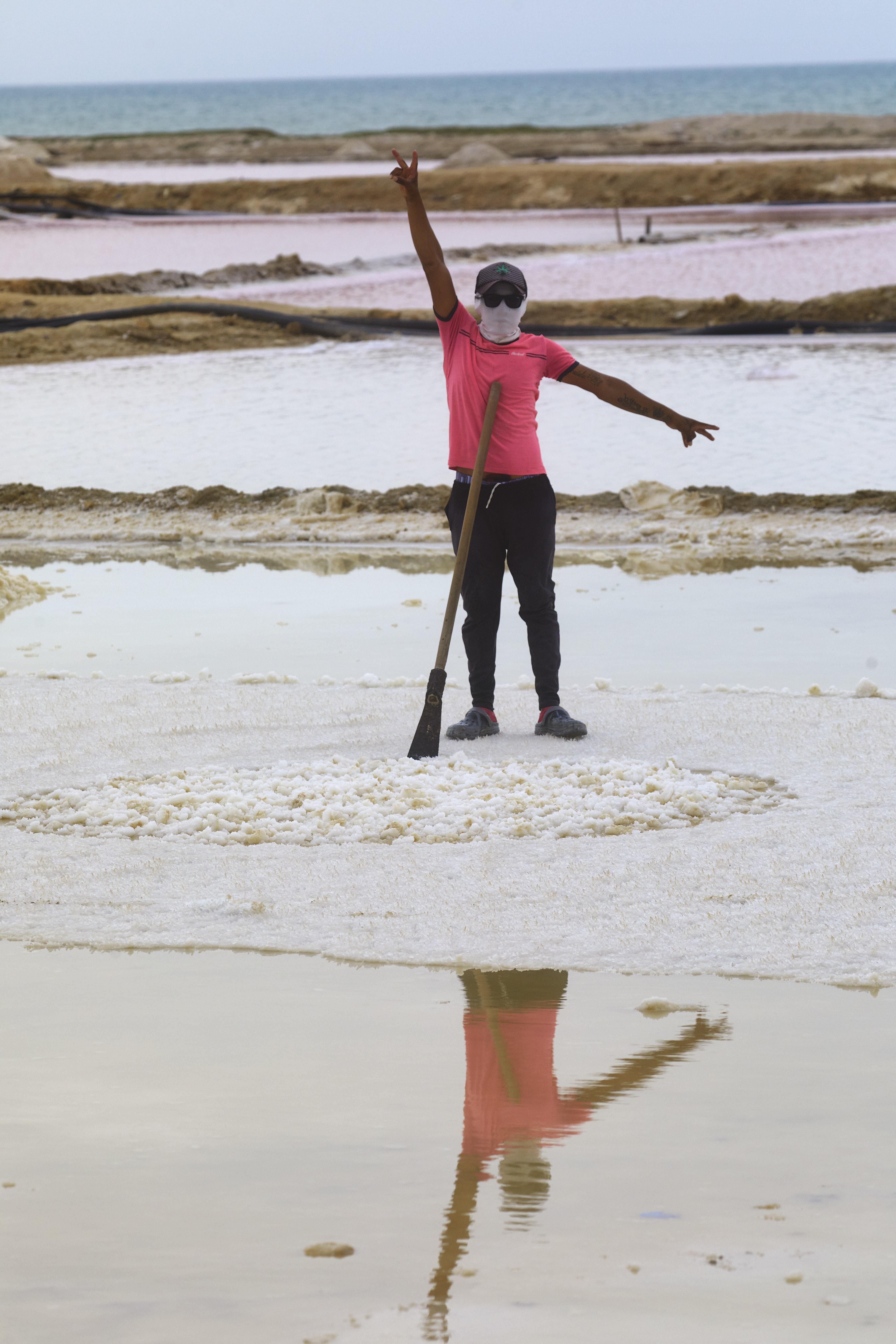 Geloof, zout en plastic in Colombia © Jaco Klamer www.klamer-staal.nl