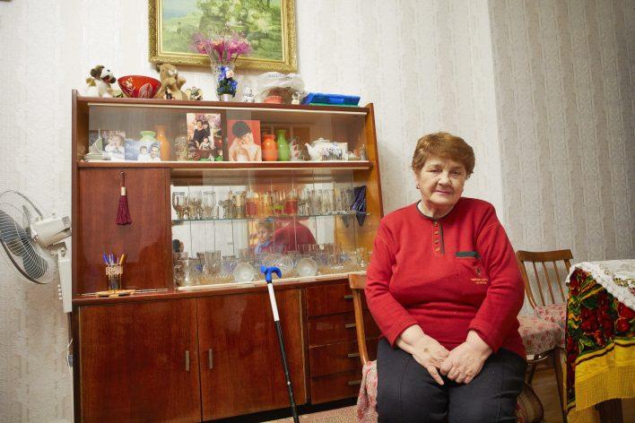 Oude joden in Oekraïne © Jaco Klamer www.klamer-staal.nl